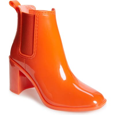 Jeffrey Campbell Hurricane Waterproof Boot, Orange