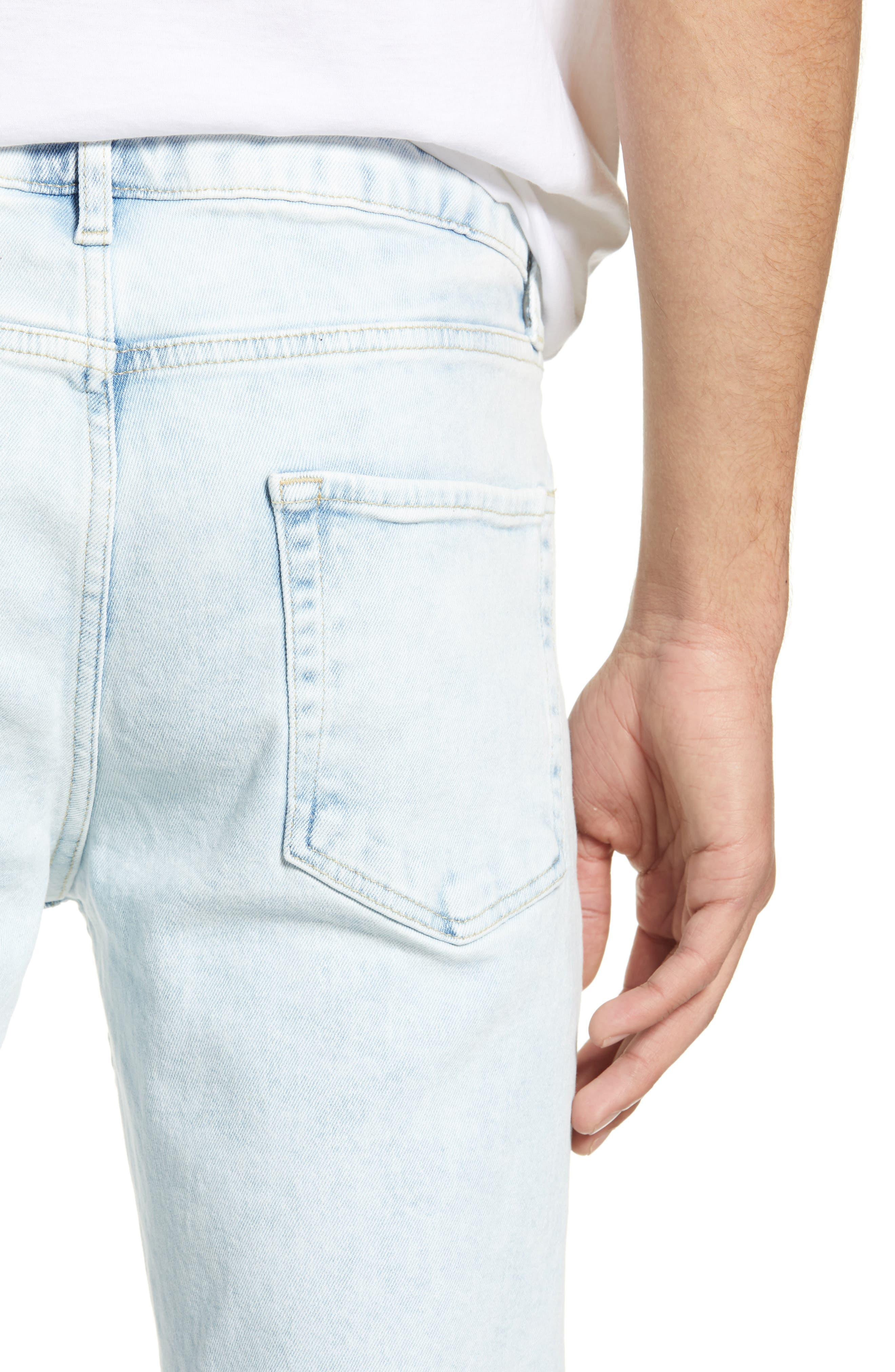,                             Ivan Skinny Jeans,                             Alternate thumbnail 5, color,                             BLUE