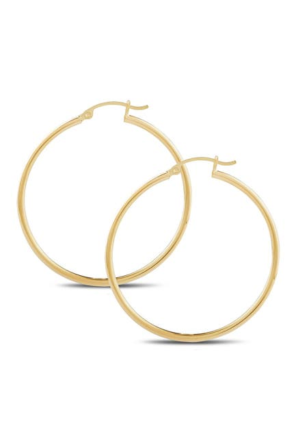 Image of CENTRAL PARK JEWELRY 40mm Hoop Earrings