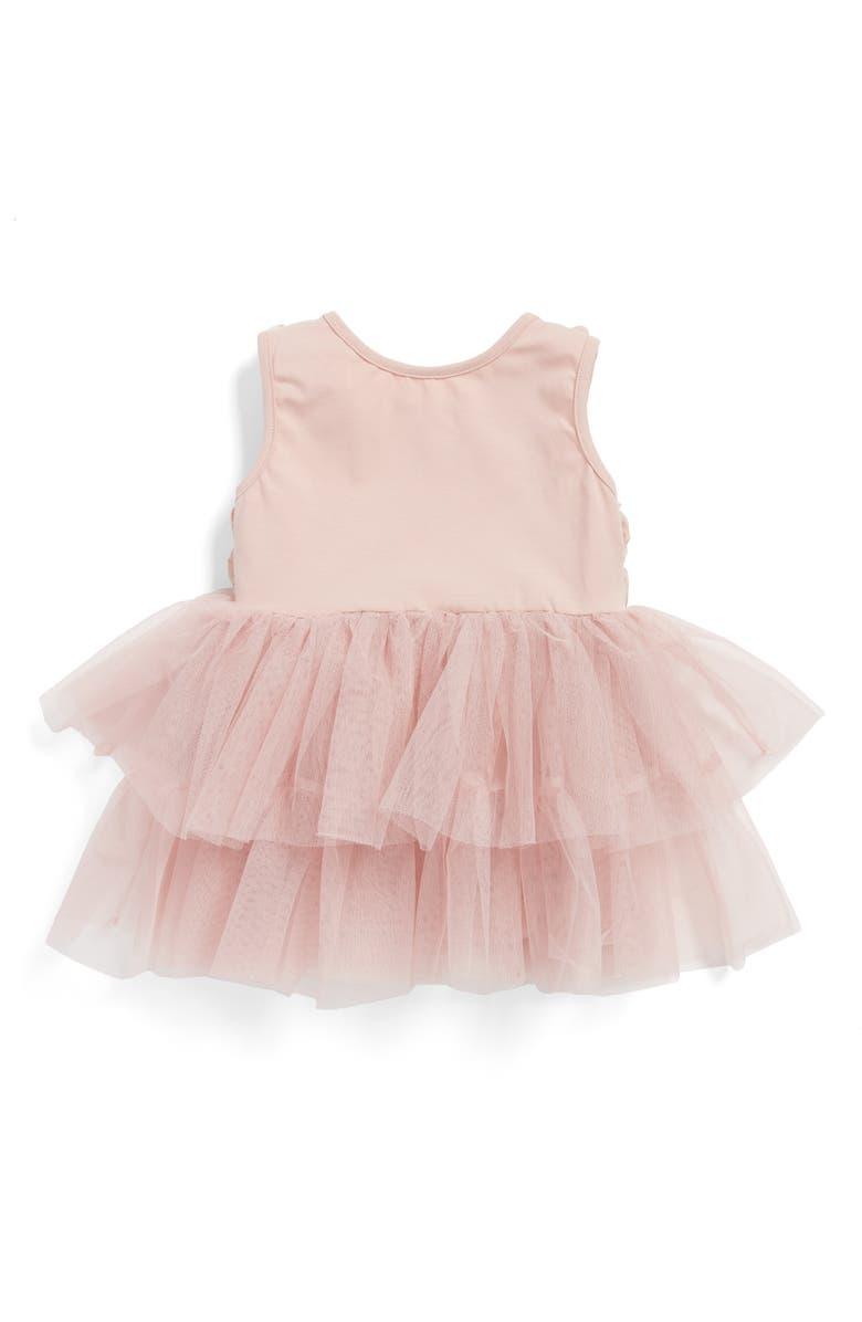 POPATU Rosette Tulle Dress, Main, color, 650
