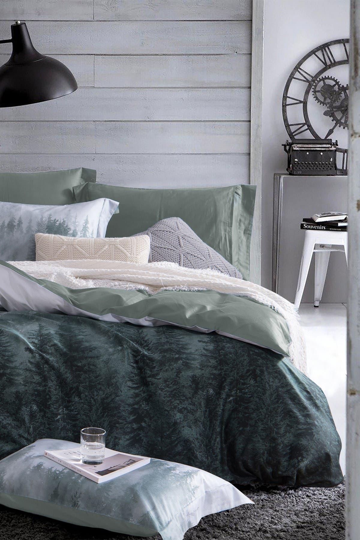 Image of Melange Home Forest King 3-Piece Duvet Set - Multi