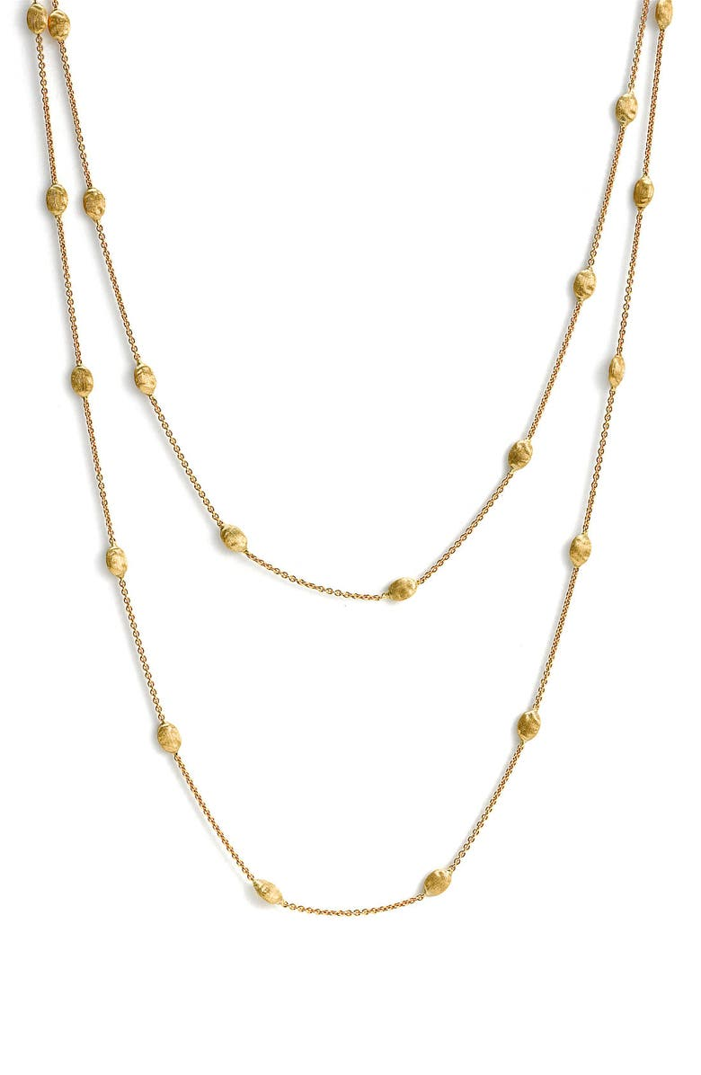 MARCO BICEGO 'Siviglia' Long Necklace, Main, color, 710