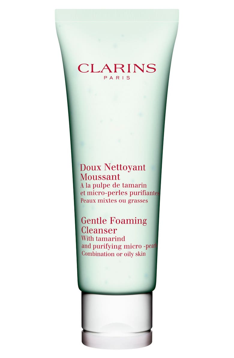 CLARINS Gentle Foaming Cleanser with Tamarind for Combination/Oily Skin Types, Main, color, NO COLOR