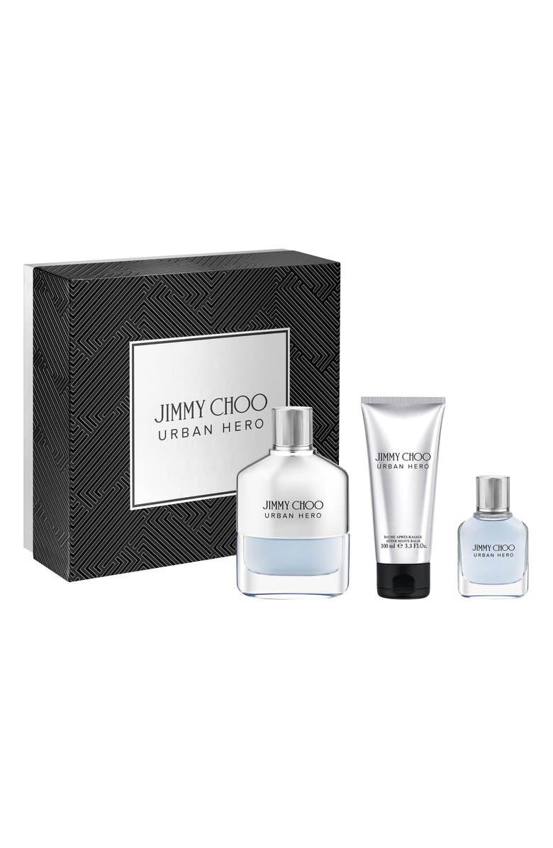 JIMMY CHOO Urban Hero Eau de Parfum Set, Main, color, NO COLOR