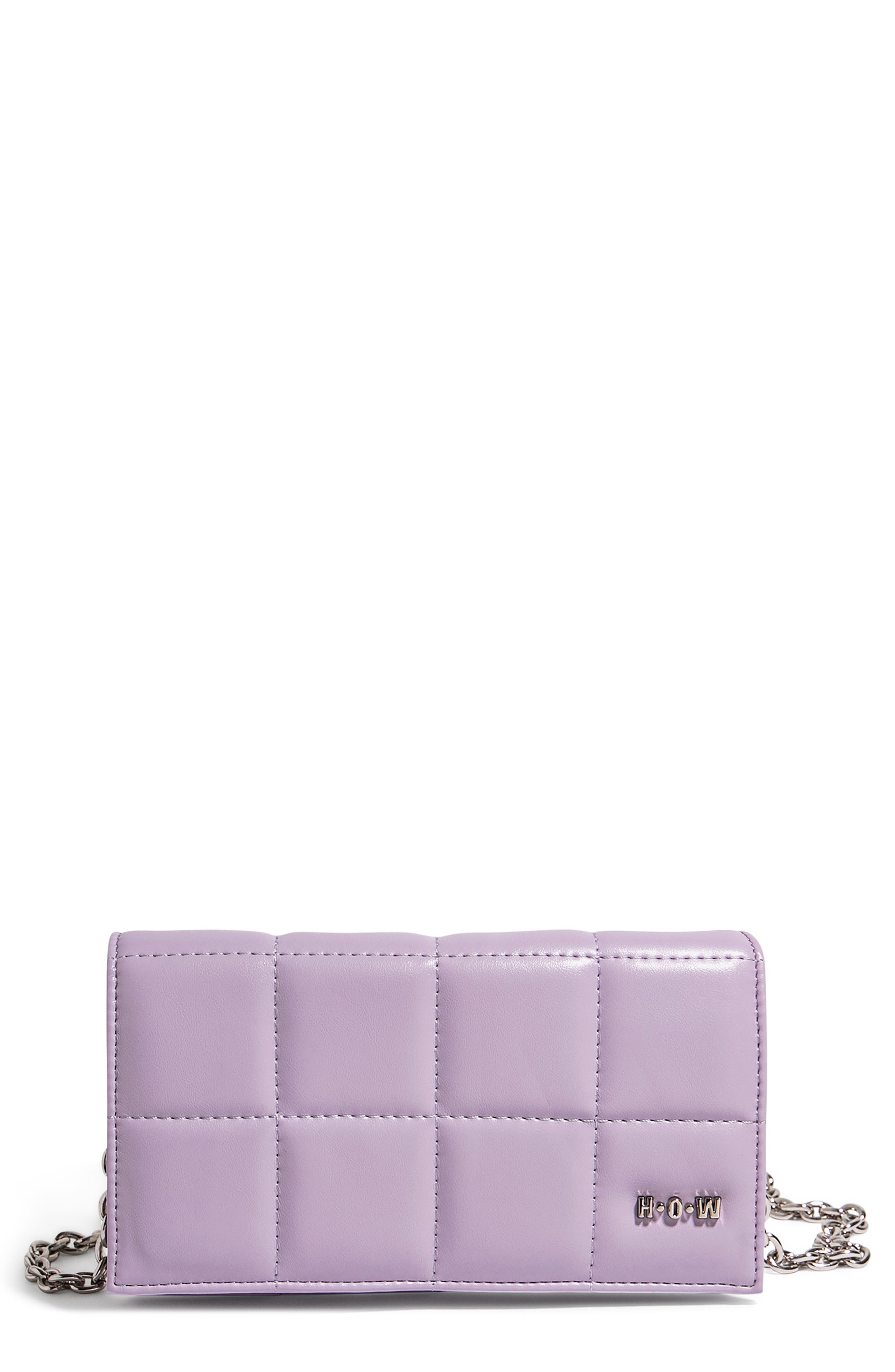 We Browse Vegan Leather Wallet Crossbody Bag