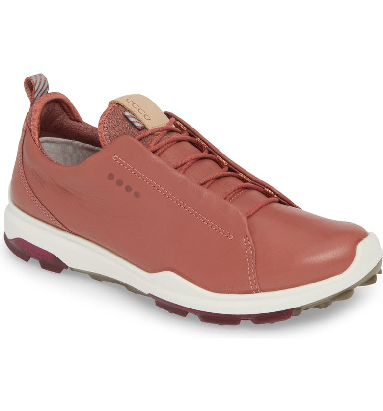 ECCO BIOM Hybrid Gore-Tex<sup>®</sup> Golf Shoe, Main, color, PETAL LEATHER