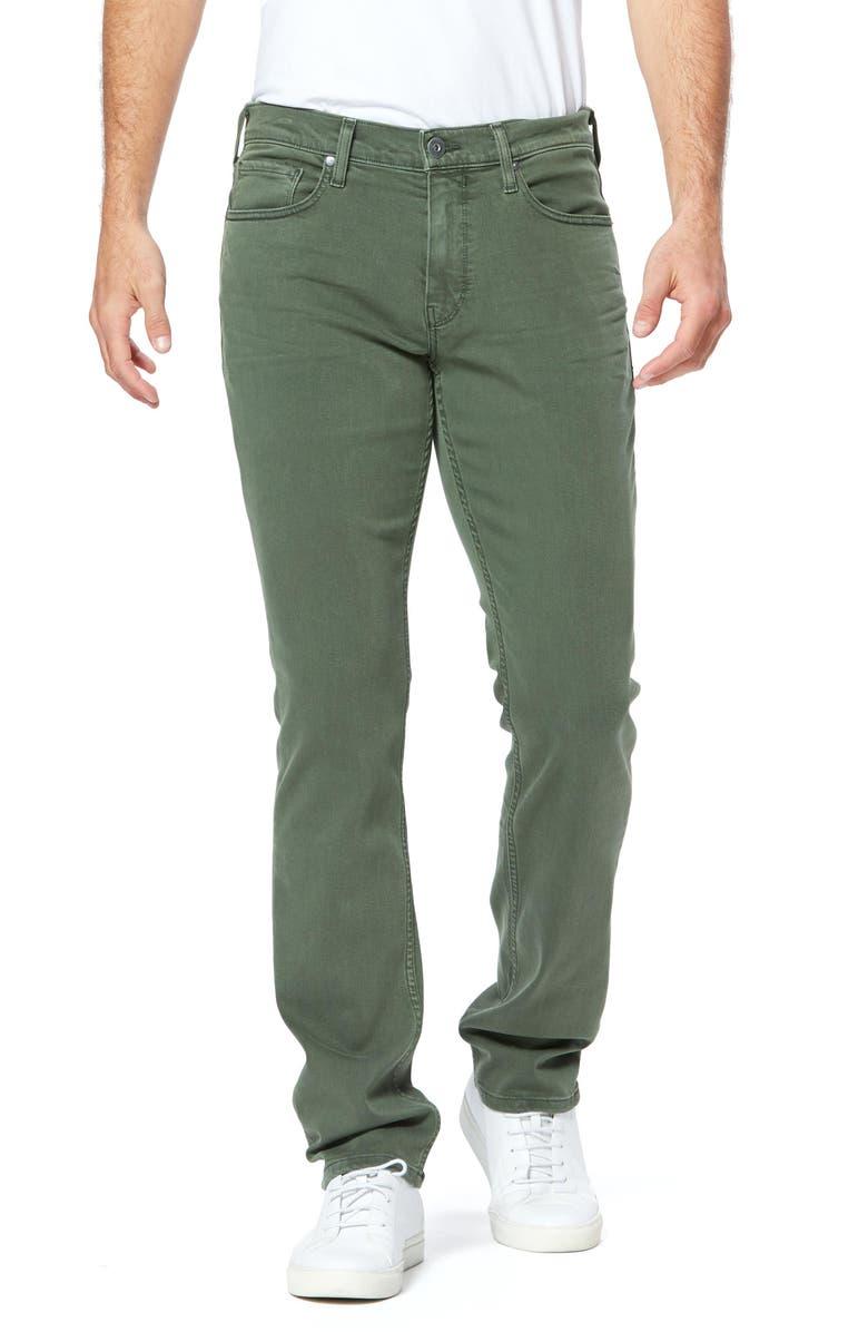 PAIGE Transcend Federal Slim Straight Leg Jeans, Main, color, VINTAGE ALPINE TRAIL