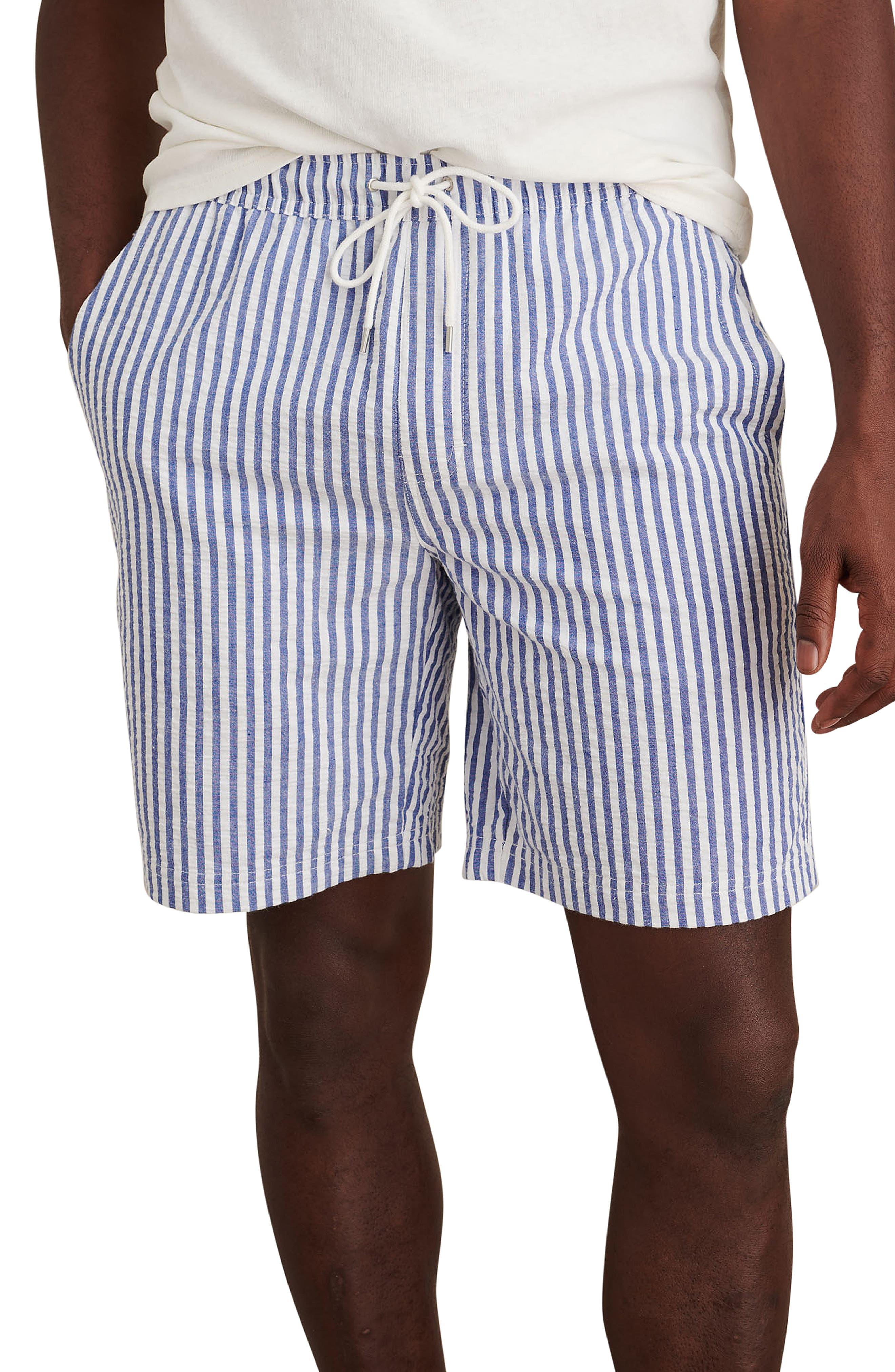 Saturday Cotton Seersucker Short