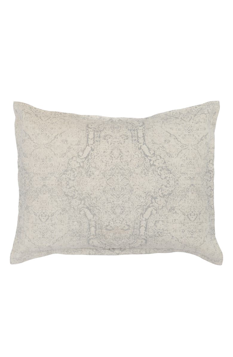 VILLA HOME COLLECTION Luri Sham, Main, color, NATURAL/ GRAY