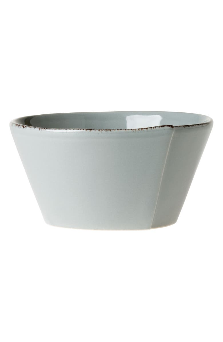 VIETRI Lastra Cereal Bowl, Main, color, GRAY
