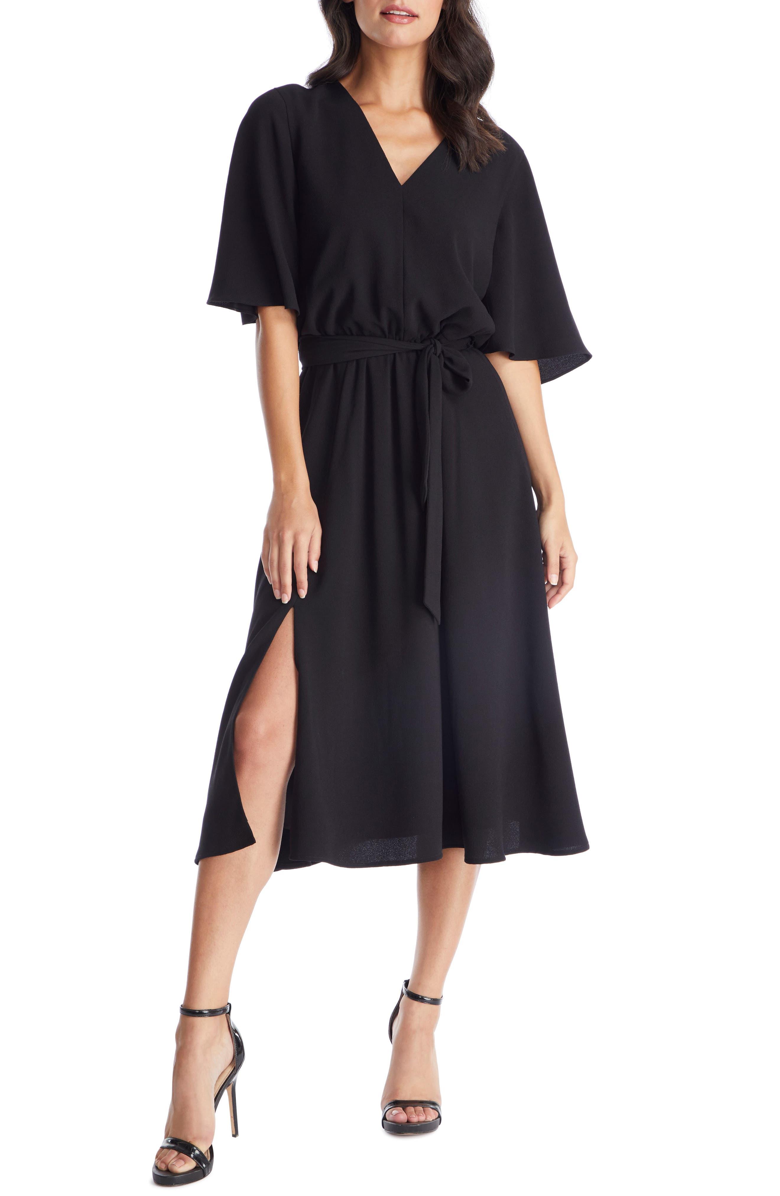 Dress The Population Lydia Midi Dress, Black