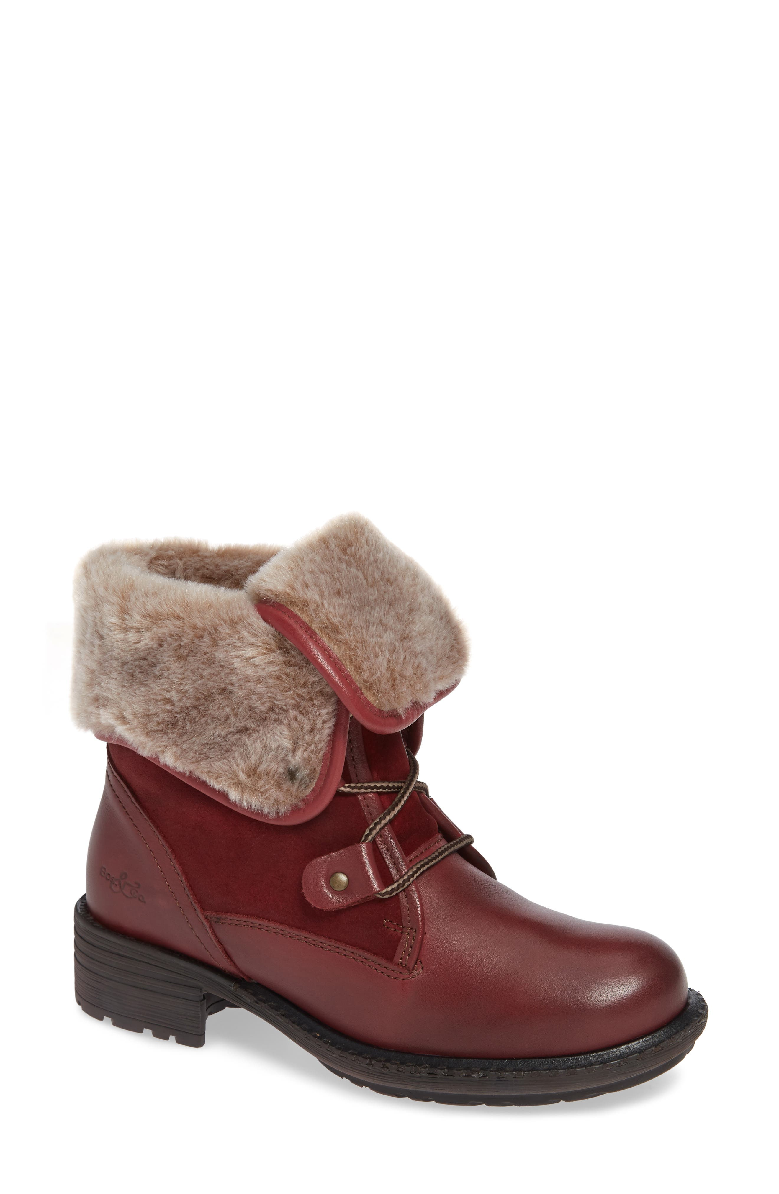 Bos. & Co. Springfield Waterproof Winter Boot - Red