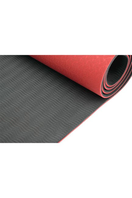 Image of MIND READER 1/4 inch Eco Friendly Non Slip Fitness Exercise Mat
