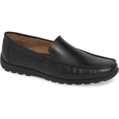 Ecco Dip Moc Toe Driving Loafer