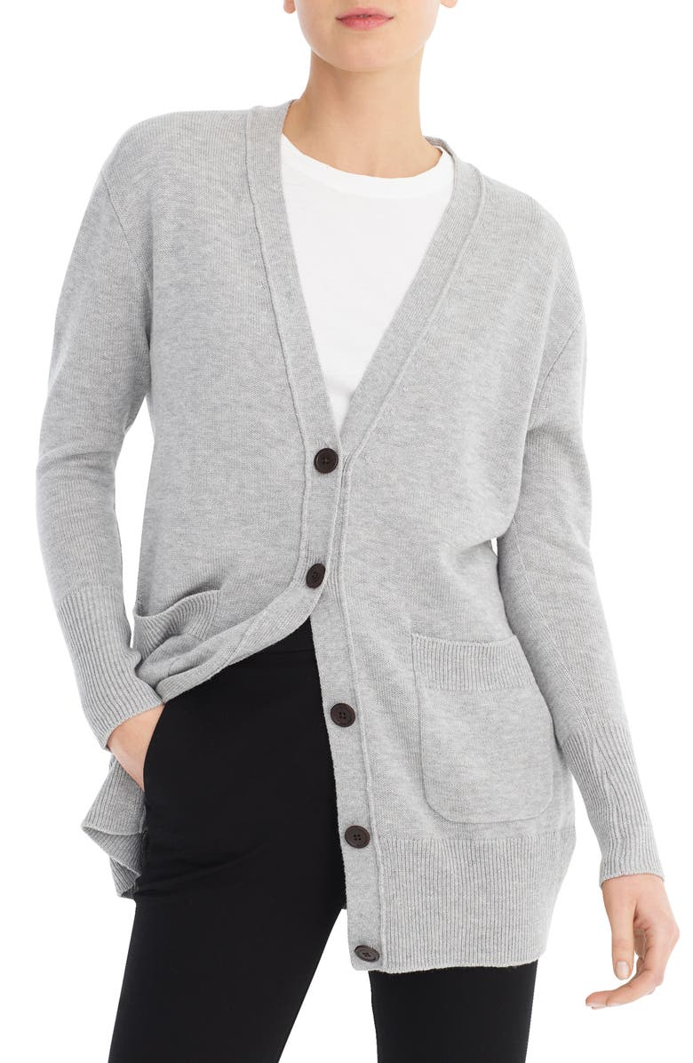 J.CREW New Oversize Cardigan, Main, color, 020