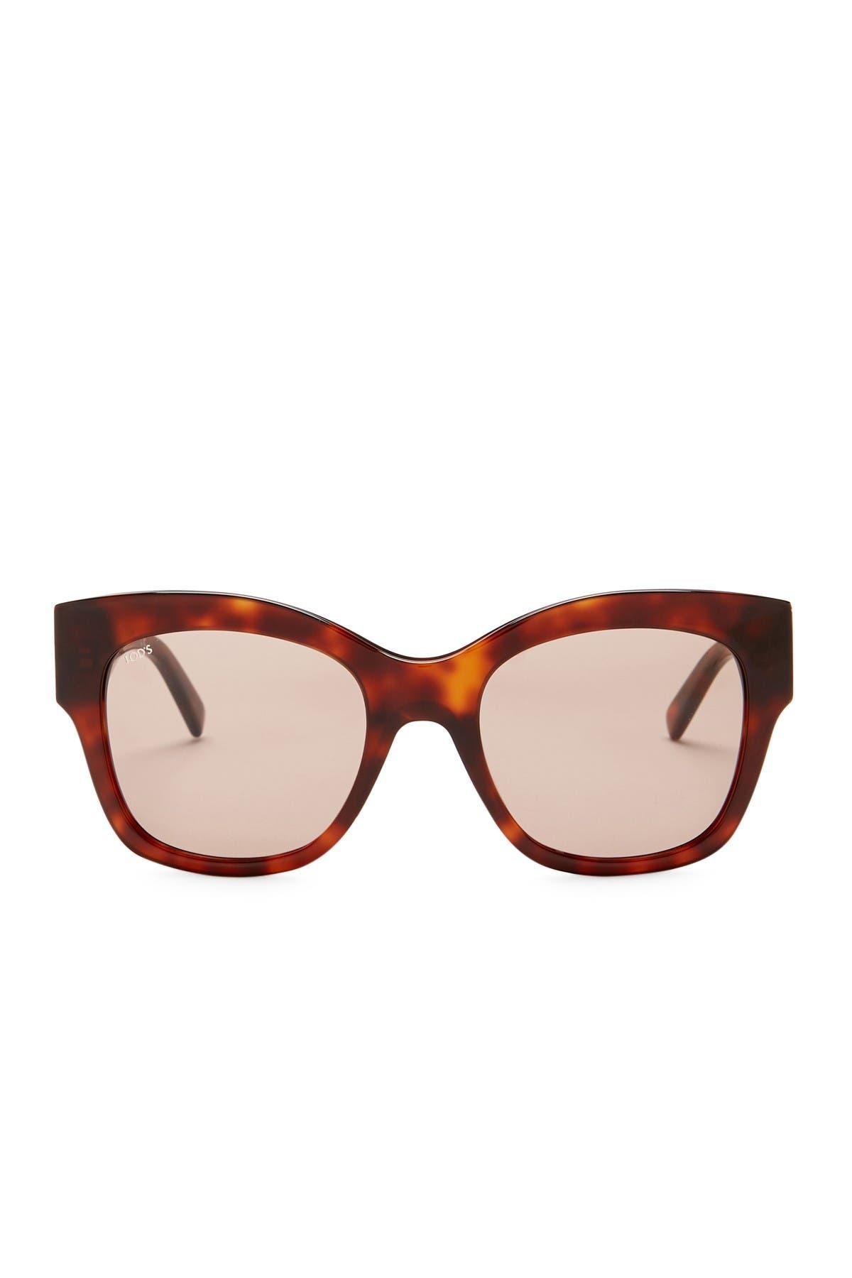 Image of Tod's 53mm Cat Eye Sunglasses