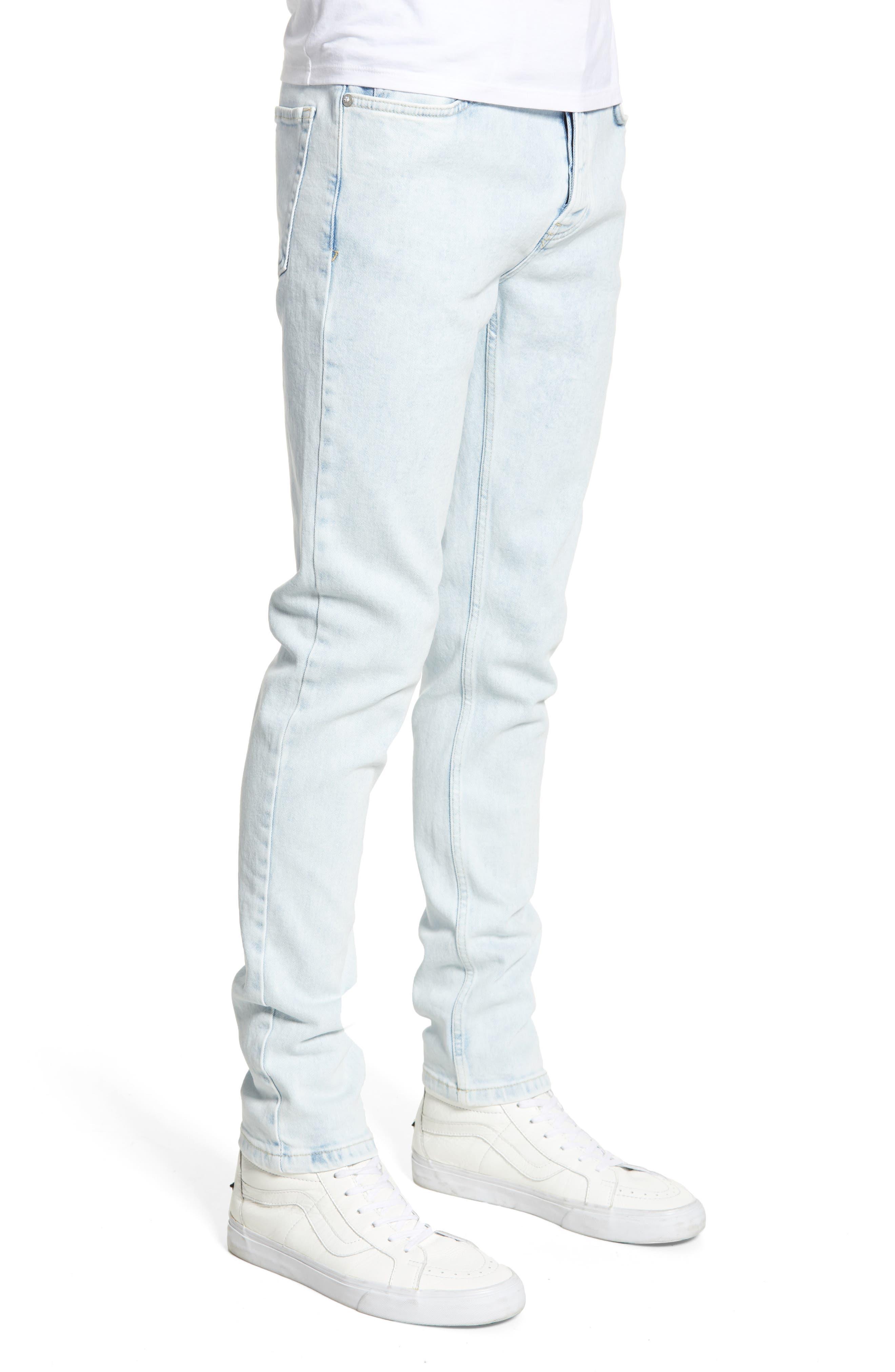 ,                             Ivan Skinny Jeans,                             Alternate thumbnail 4, color,                             BLUE