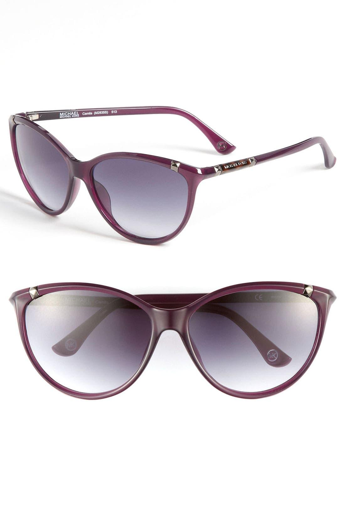 ,                             'Camila' 60mm Sunglasses,                             Main thumbnail 8, color,                             500