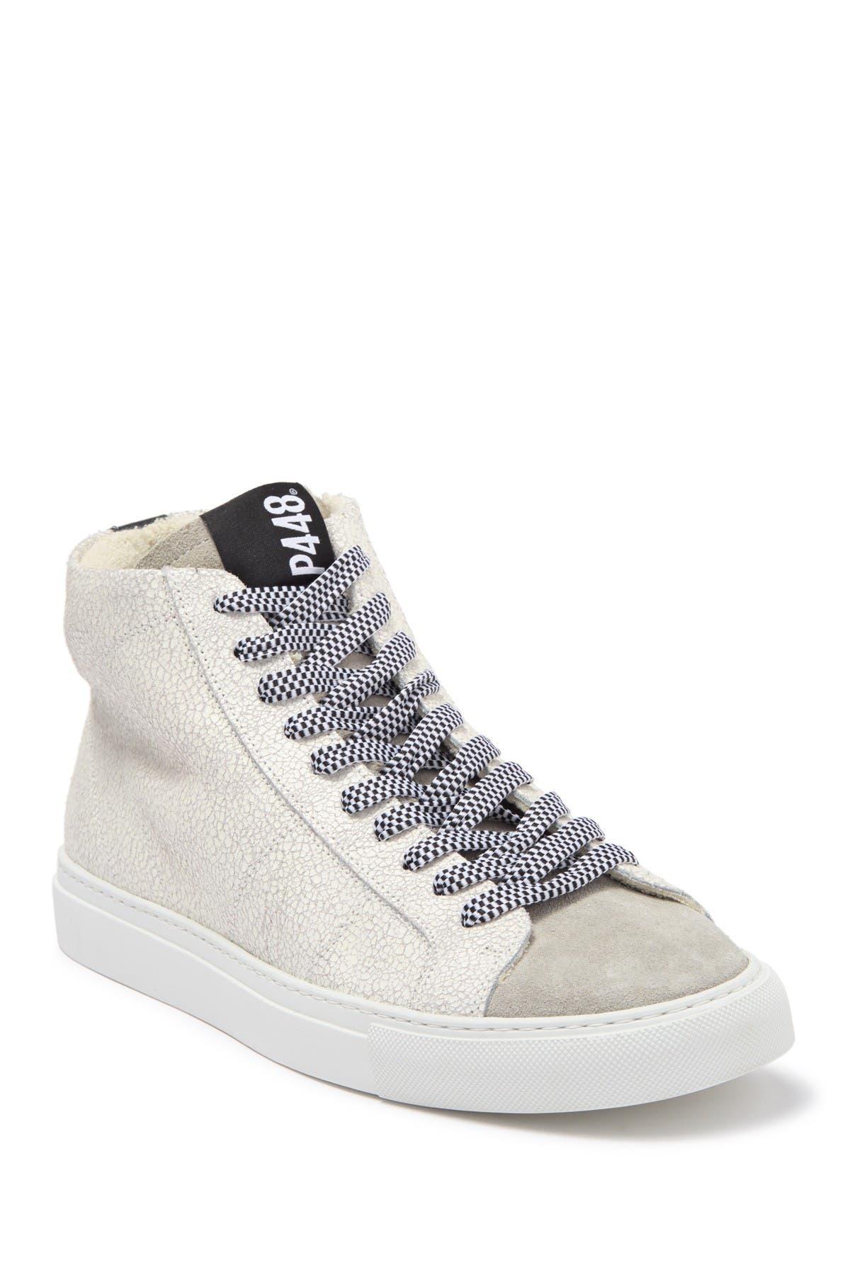 E9 Star 2.0 High-Tip Leather Sneaker