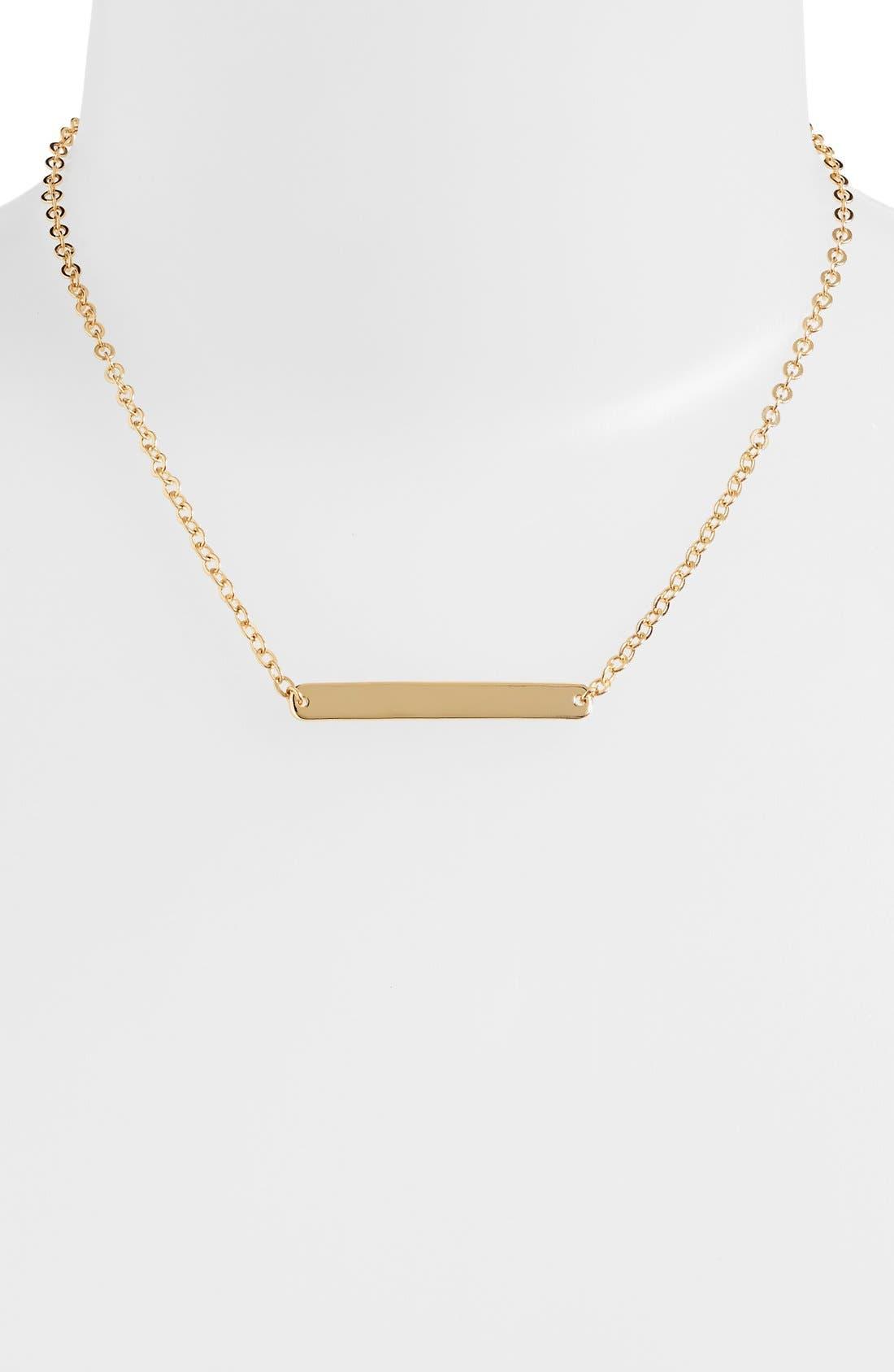 ,                             Bar Pendant Necklace,                             Main thumbnail 3, color,                             710