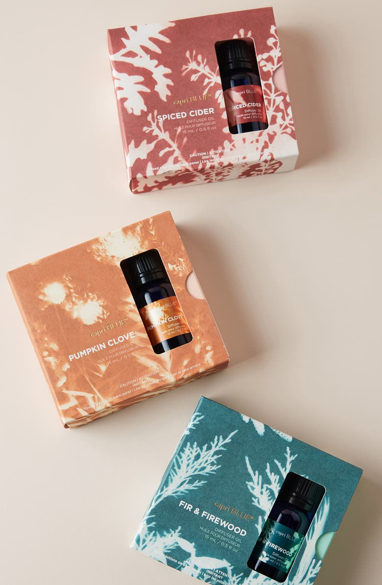 ANTHROPOLOGIE Capri Essential Diffuser Oil, Main, color, FIR AND FIREWOOD