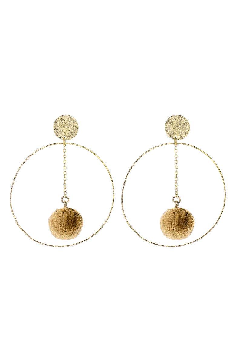 PANACEA Hoop Earrings, Main, color, 200