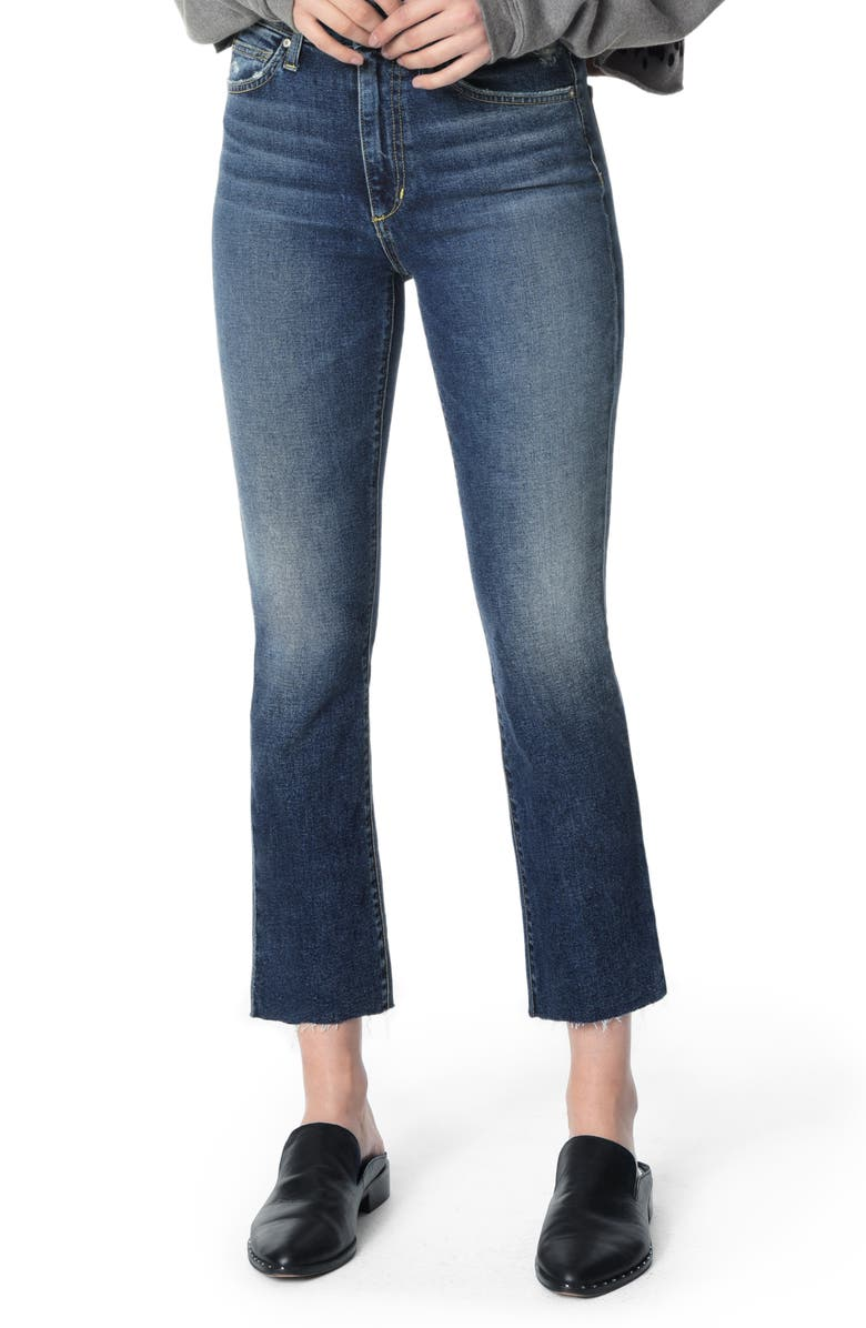JOE'S The Callie High Waist Crop Flare Jeans, Main, color, PAYTON