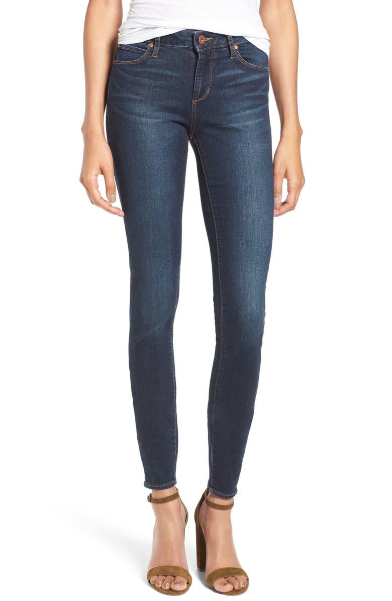 ARTICLES OF SOCIETY Mya Skinny Jeans, Main, color, 400