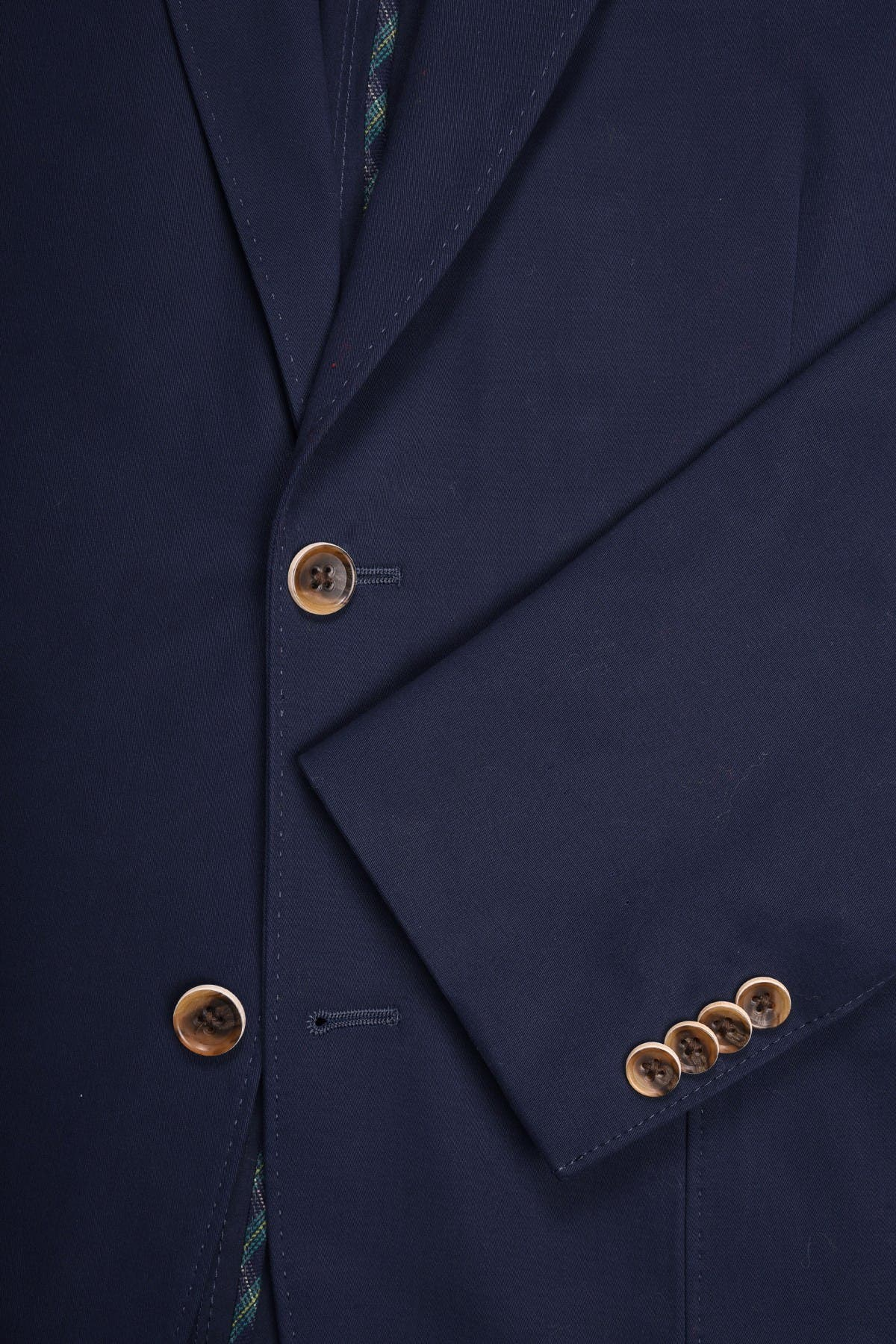Image of FLYNT Navy Two Button Notch Lapel Soft Sport Jacket