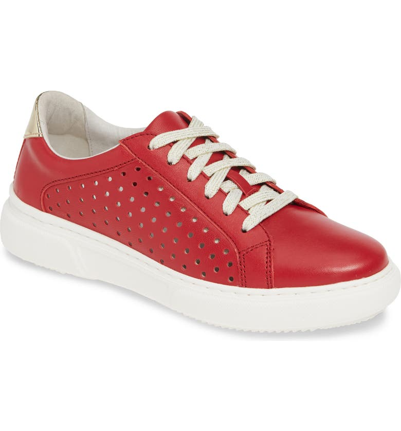 JOHNSTON & MURPHY Nora Perforated Sneaker, Main, color, 600