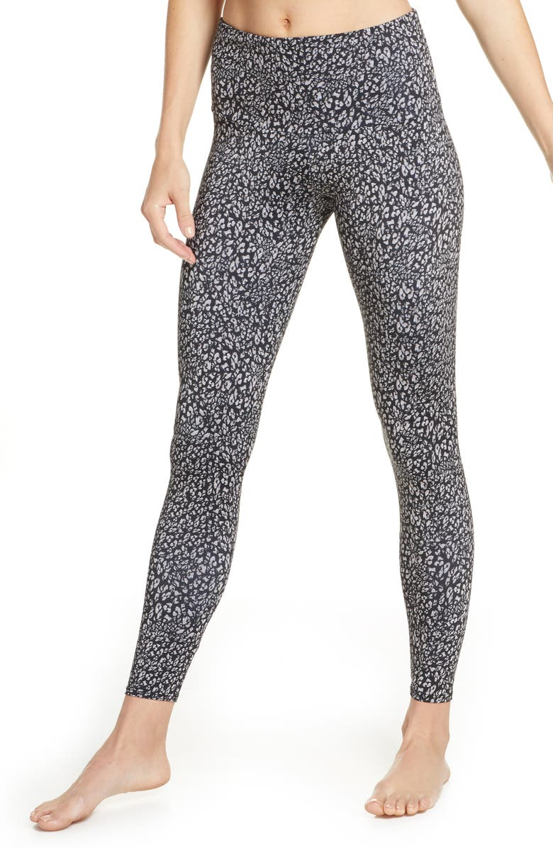 ONZIE Tech Pocket Leggings, Main, color, HONEY LEOPARD