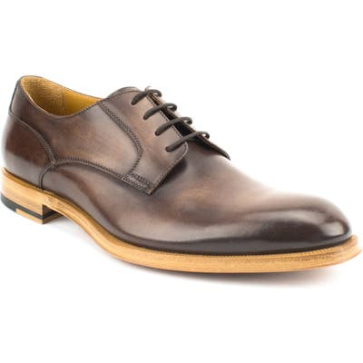 Gordon Rush Devin Plain Toe Derby- Brown