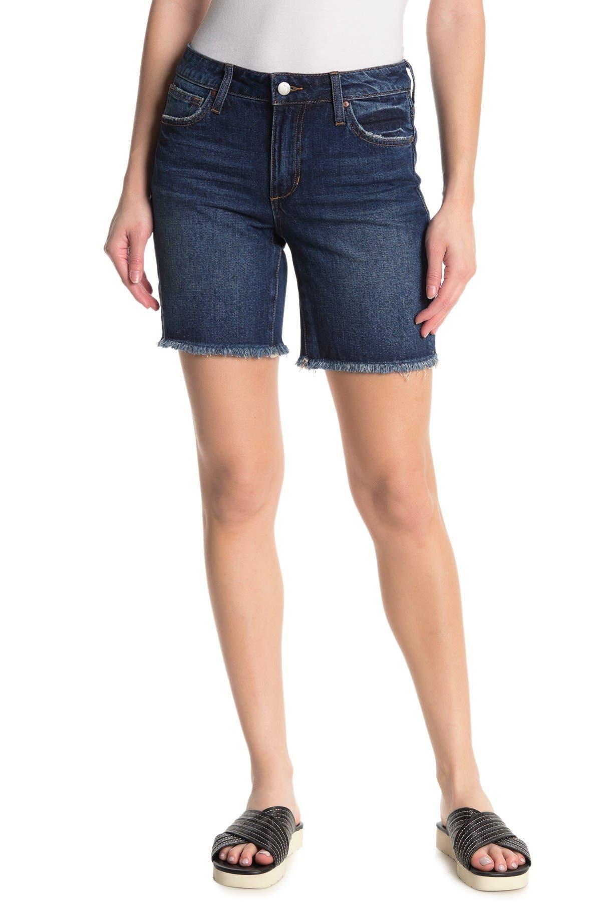 Image of Joe's Jeans Mid Rise Cutoff Bermuda Shorts