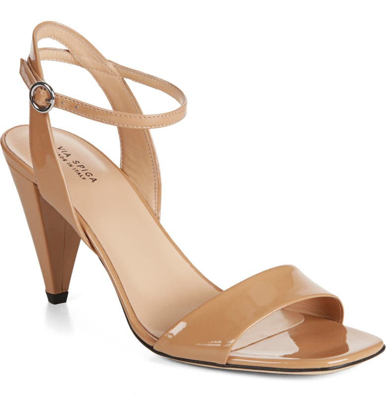 VIA SPIGA Ria Sandal, Main, color, NUDE