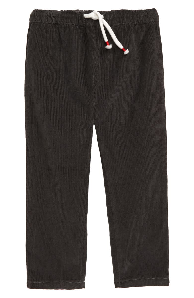 MINI BODEN Lined Corduroy Pants, Main, color, NIGHT OWL GREY