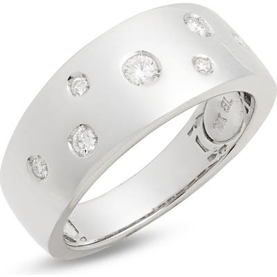 Bony Levy Ofira Wide Diamond Band Ring (Nordstrom Exclusive)