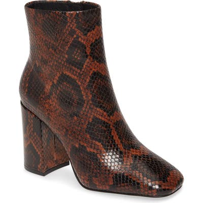 Ash Jade Bootie, Brown