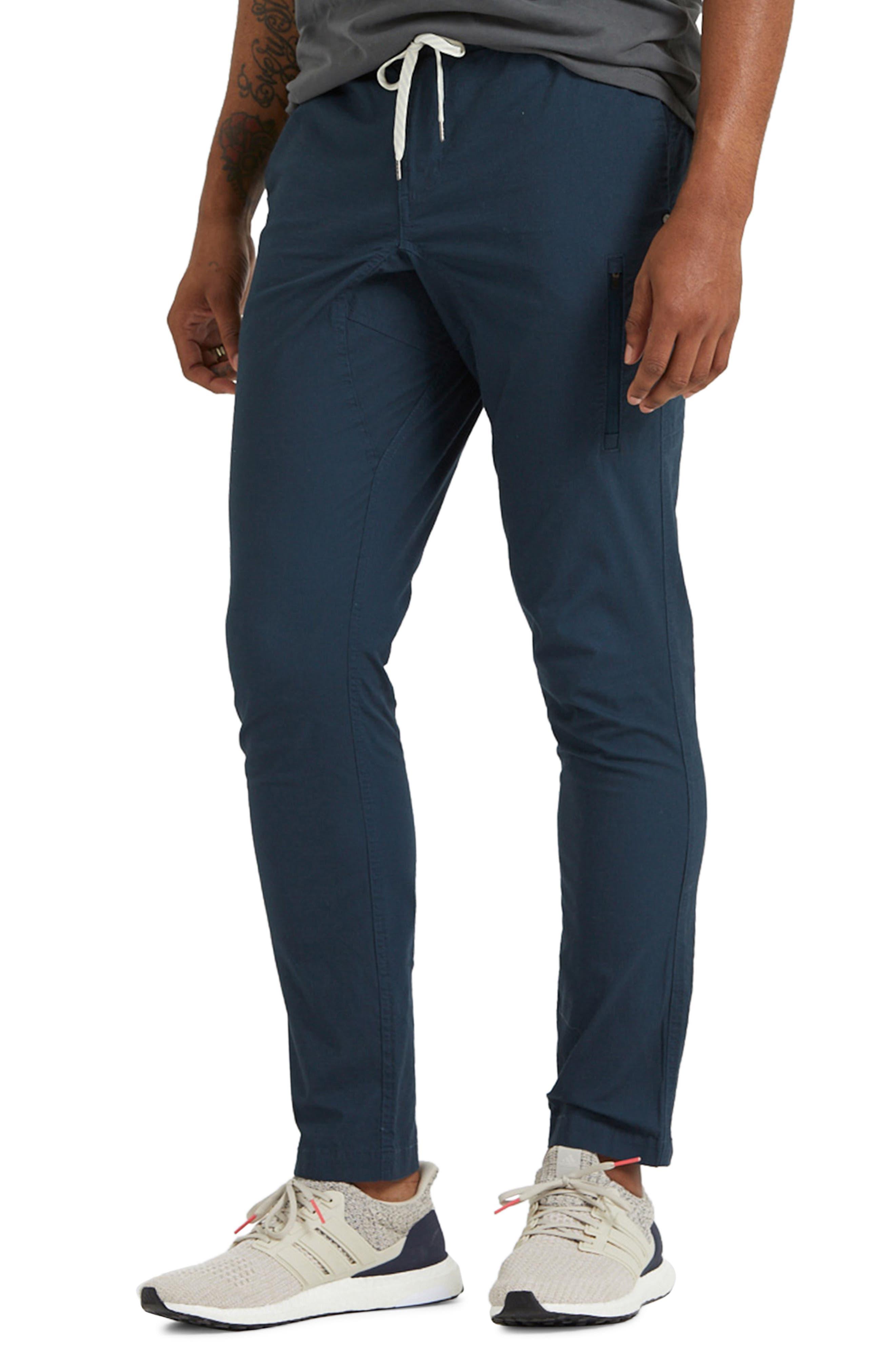 Men's Vuori Ripstop Slim Fit Climber Pants,  Large - Blue