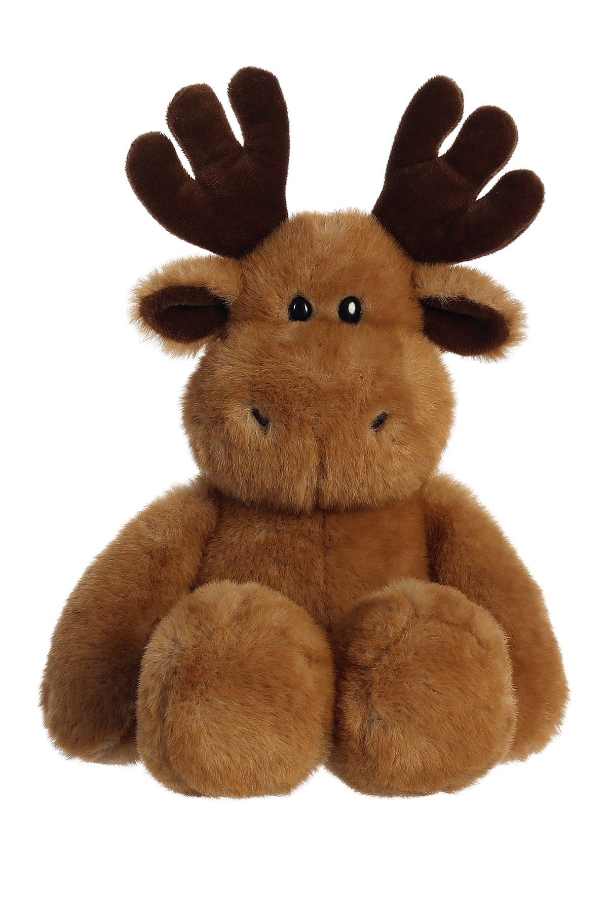 "Image of Aurora World Toys 13"" Softie Faux Fur Moose"