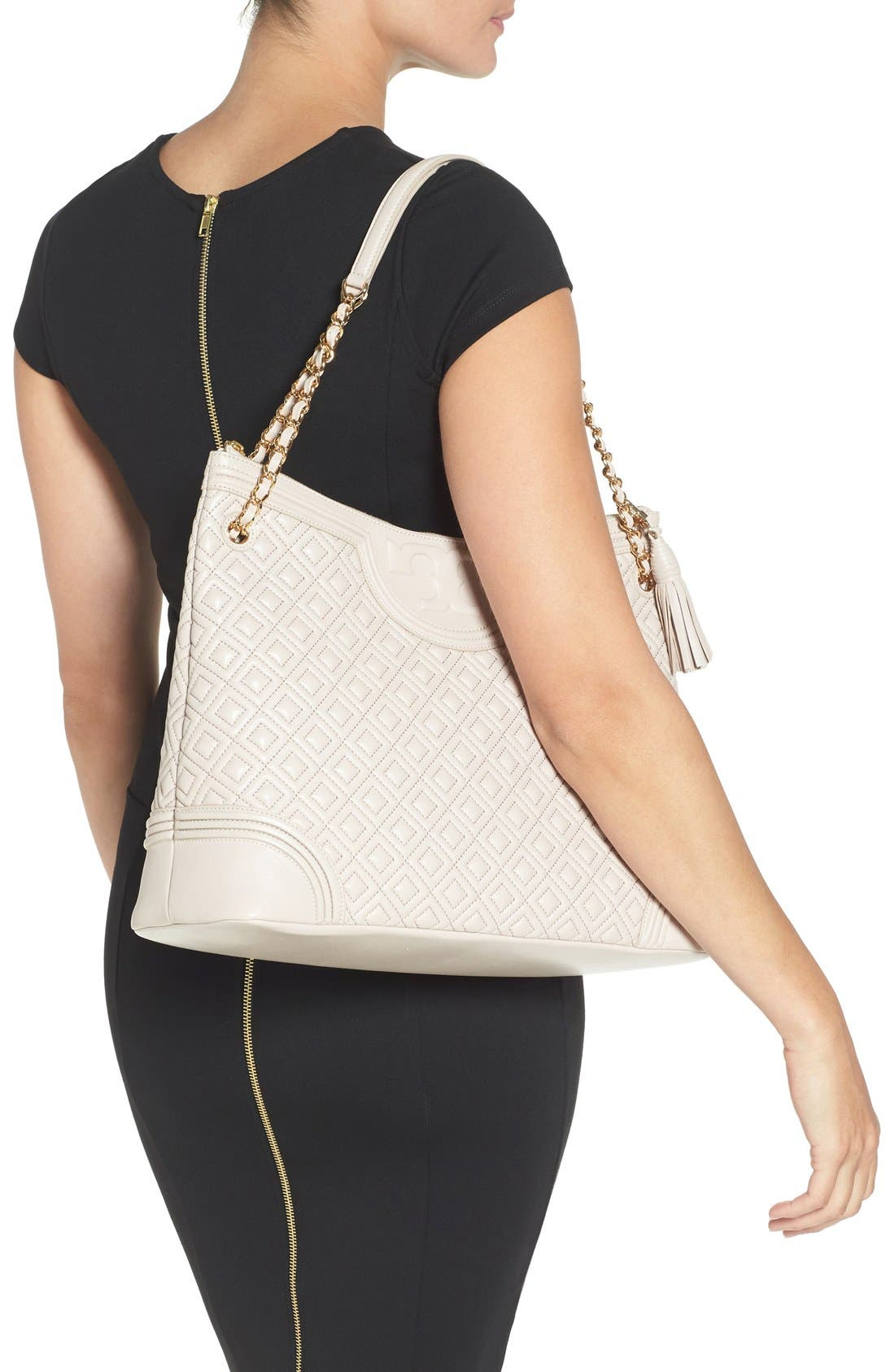 ,                             'Fleming' Leather Shoulder Bag,                             Alternate thumbnail 10, color,                             262