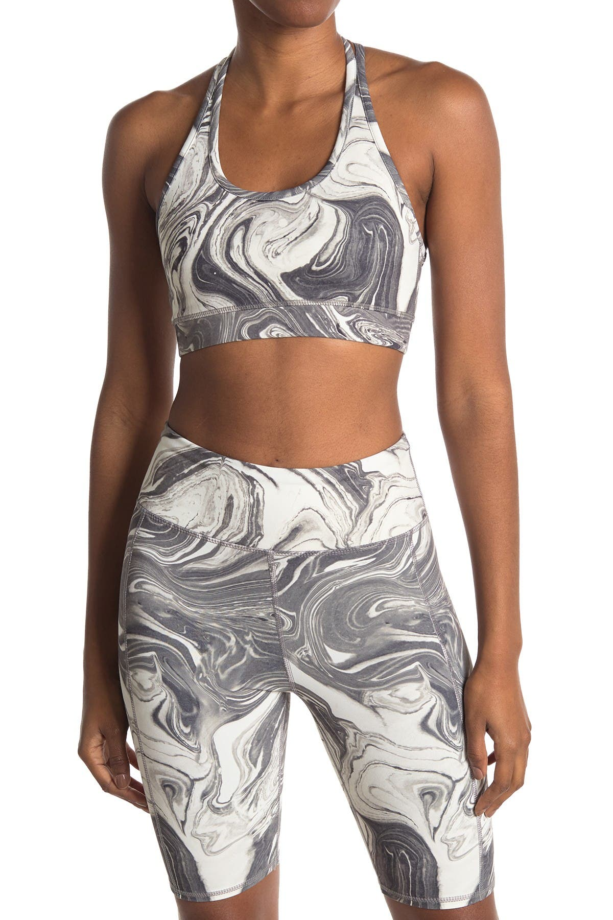 Image of Threads 4 Thought Zelma Marble Sports Bra