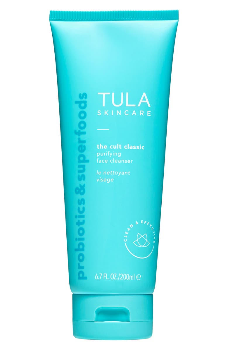 TULA PROBIOTIC SKINCARE The Cult Classic Purifying Face Cleanser, Main, color, NO COLOR