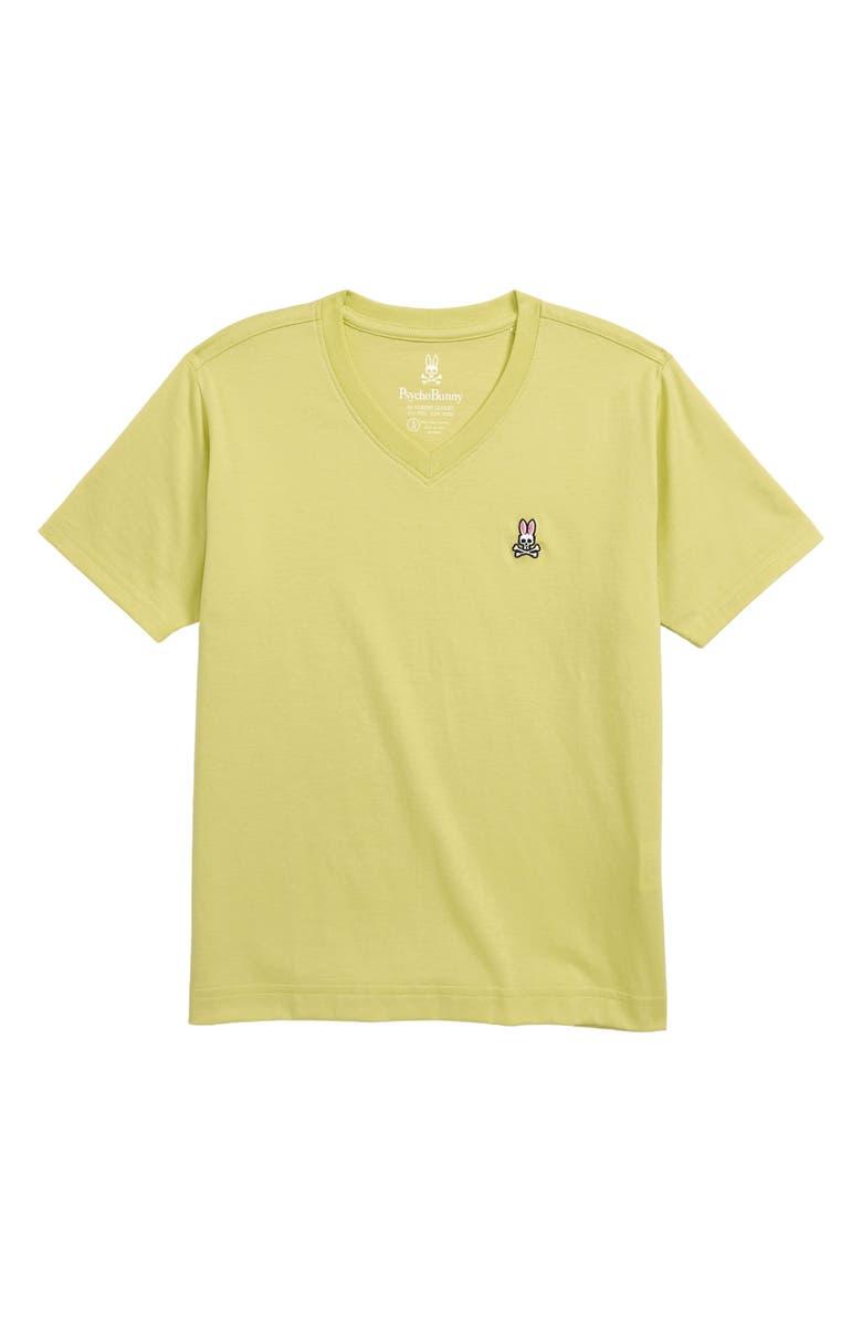 PSYCHO BUNNY Classic V-Neck T-Shirt, Main, color, 331