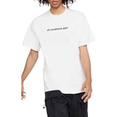 Nike Acg Logo T-Shirt, White