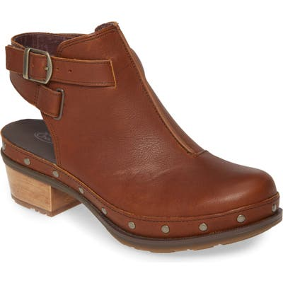 Chaco Cataluna Clog Bootie, Brown