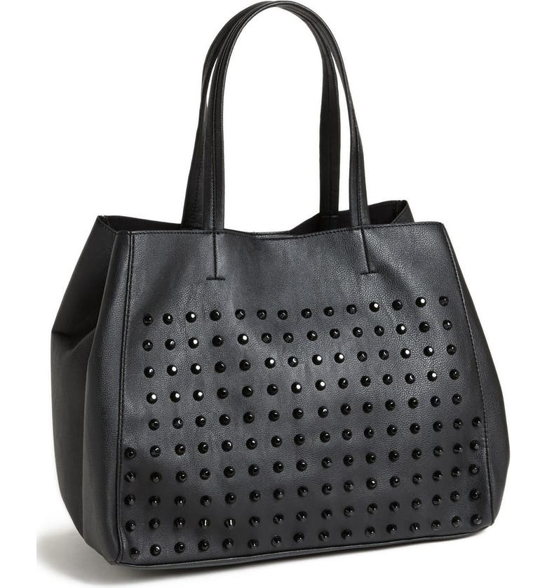 ab5c00c49e Steven by Steve Madden 'BNortage' Studded Tote, Main, color, ...