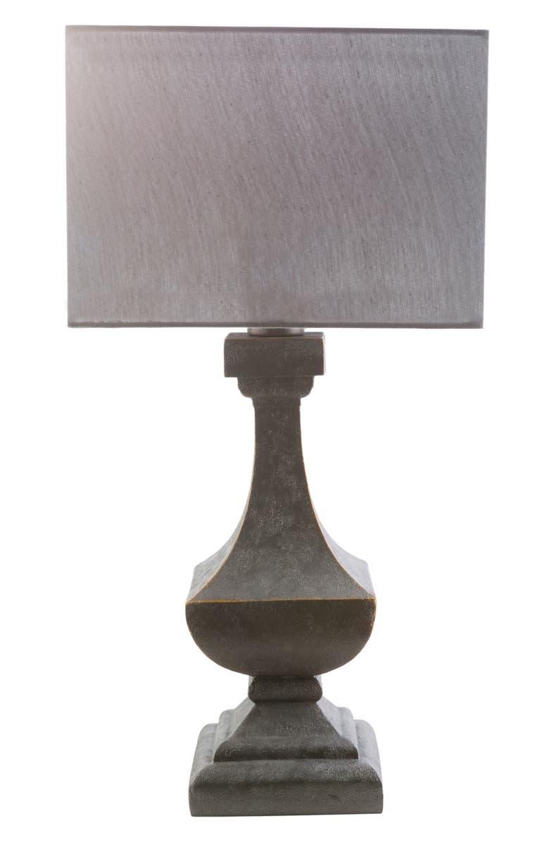SURYA HOME Davis Table Lamp, Main, color, SILVER