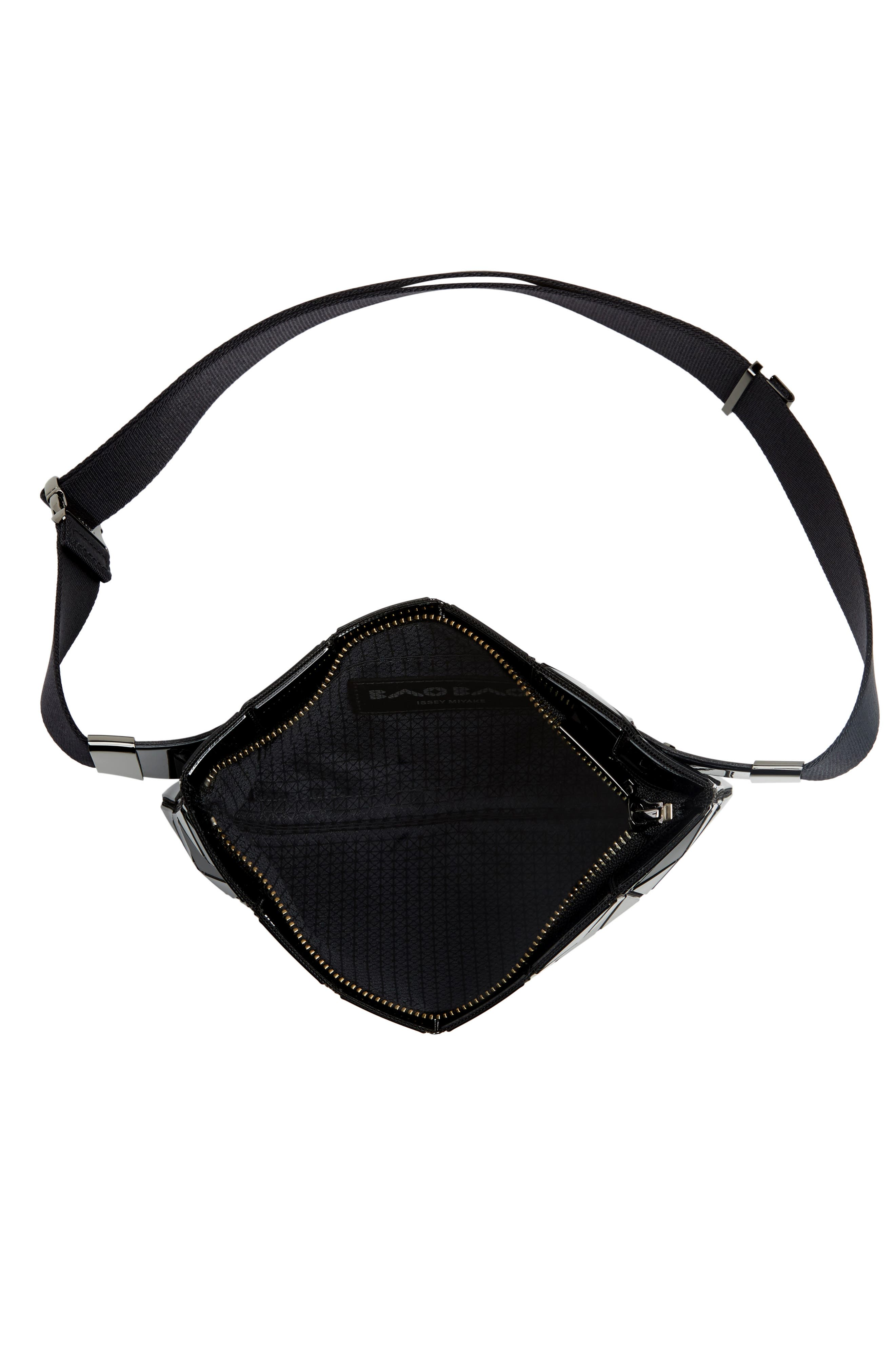 ,                             Prism Belt Bag,                             Alternate thumbnail 6, color,                             JET BLACK