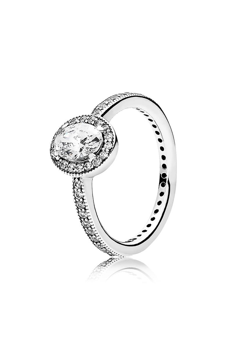 PANDORA Vintage Elegance Ring, Main, color, SILVER