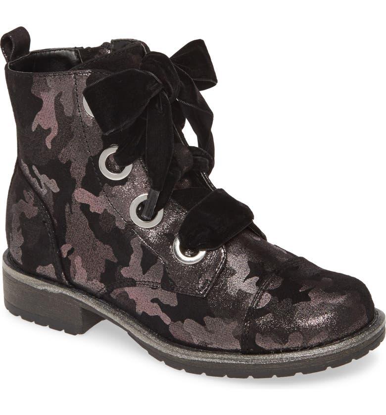 DOLCE VITA Lalia Metallic Camo Combat Boot, Main, color, CAMO